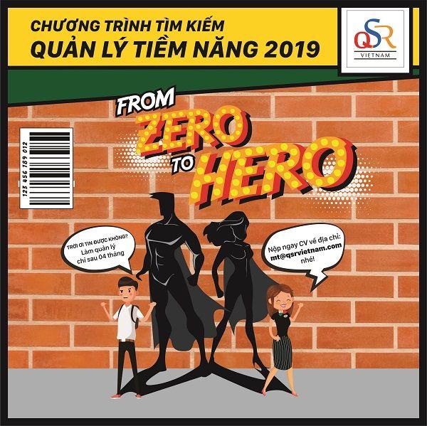"""CHƯƠNG TRÌNH QUẢN LÝ NHÀ HÀNG TẬP SỰ 2019 - """"FROM ZERO TO HERO"""""""