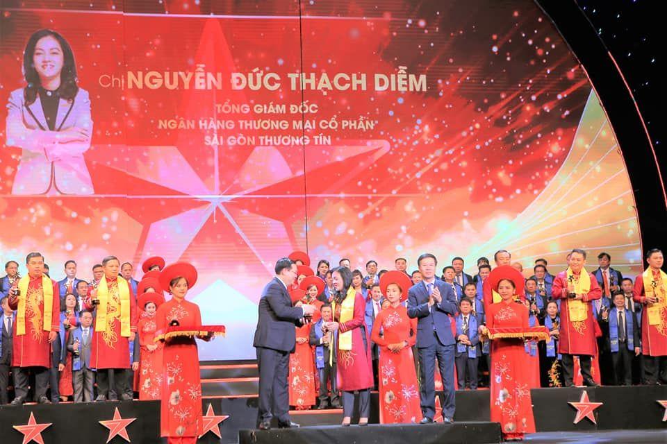 VINH DANH CEO SACOMBANK: SAO ĐỎ VIỆT NAM 2019
