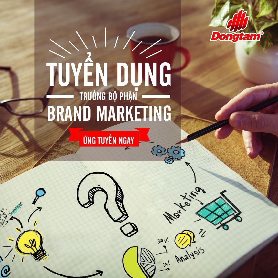 Trưởng Bộ Phận Brand Marketing