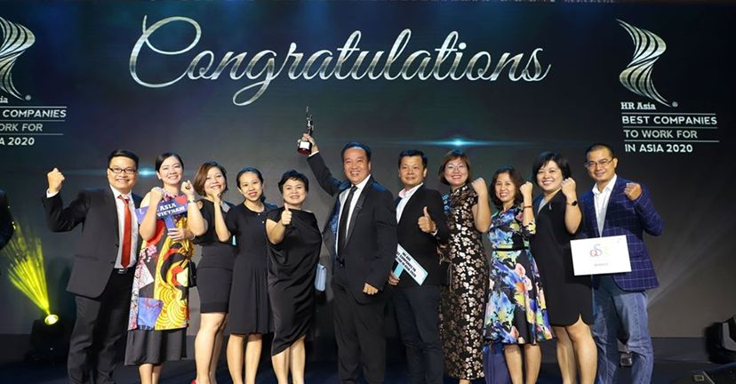 QSR VIỆT NAM - The Best Company to Work in Asia 2020