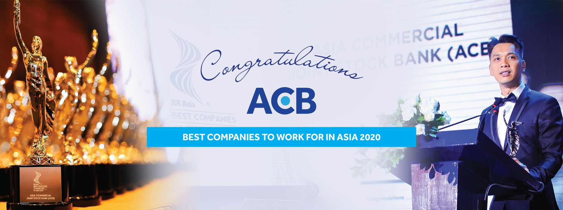"""Giải thưởng """"ACB - Best companies to work for in Asia 2020"""""""