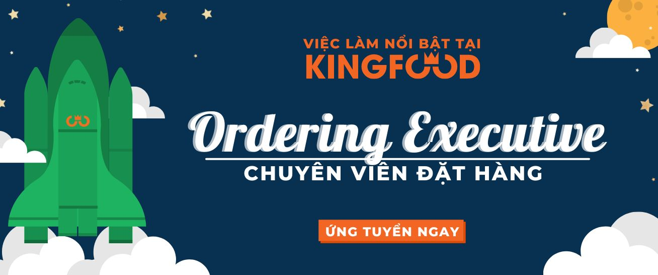 Ordering Executive | Chuyên viên đặt hàng