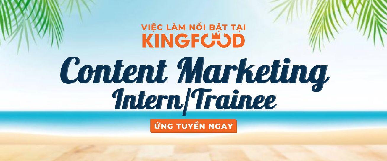 Content Marketing Intern/Trainee