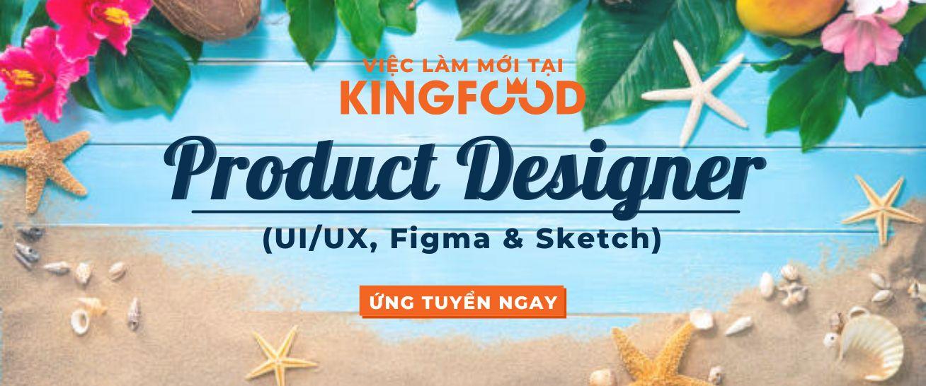 PRODUCT DESIGNER (UI-UX, Figma & Sketch)