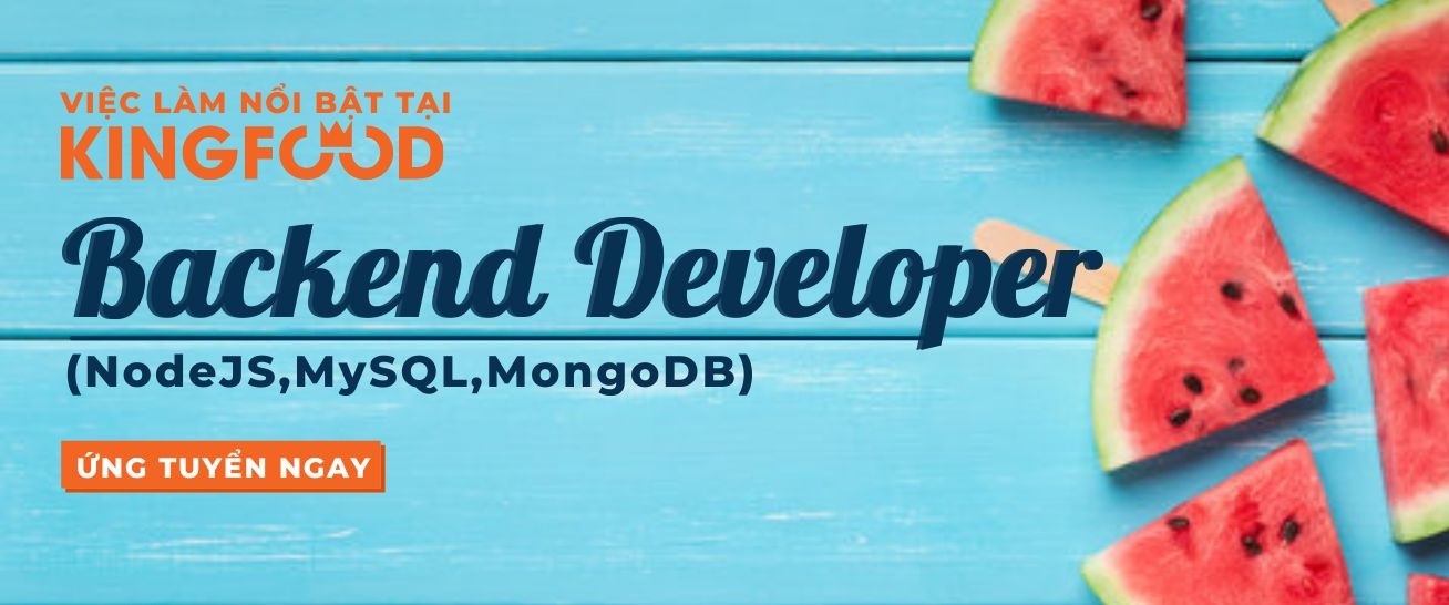 BACKEND DEVELOPER (NodeJS,MySQL,MongoDB)