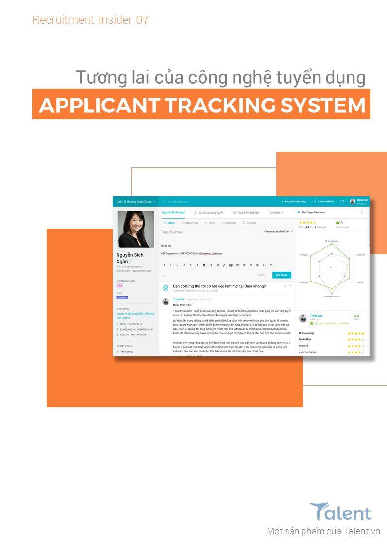 Tương lai của công nghệ tuyển dụng - Applicant Tracking System