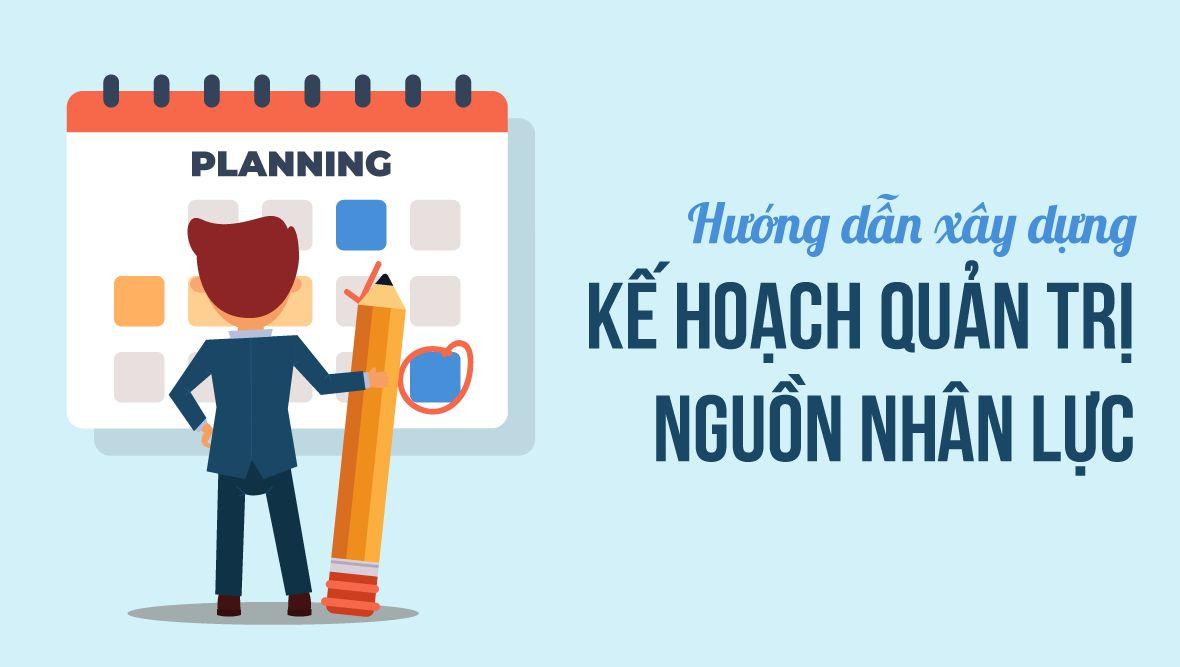 Hướng dẫn xây dựng kế hoạch quản trị nguồn nhân lực cho doanh nghiệp