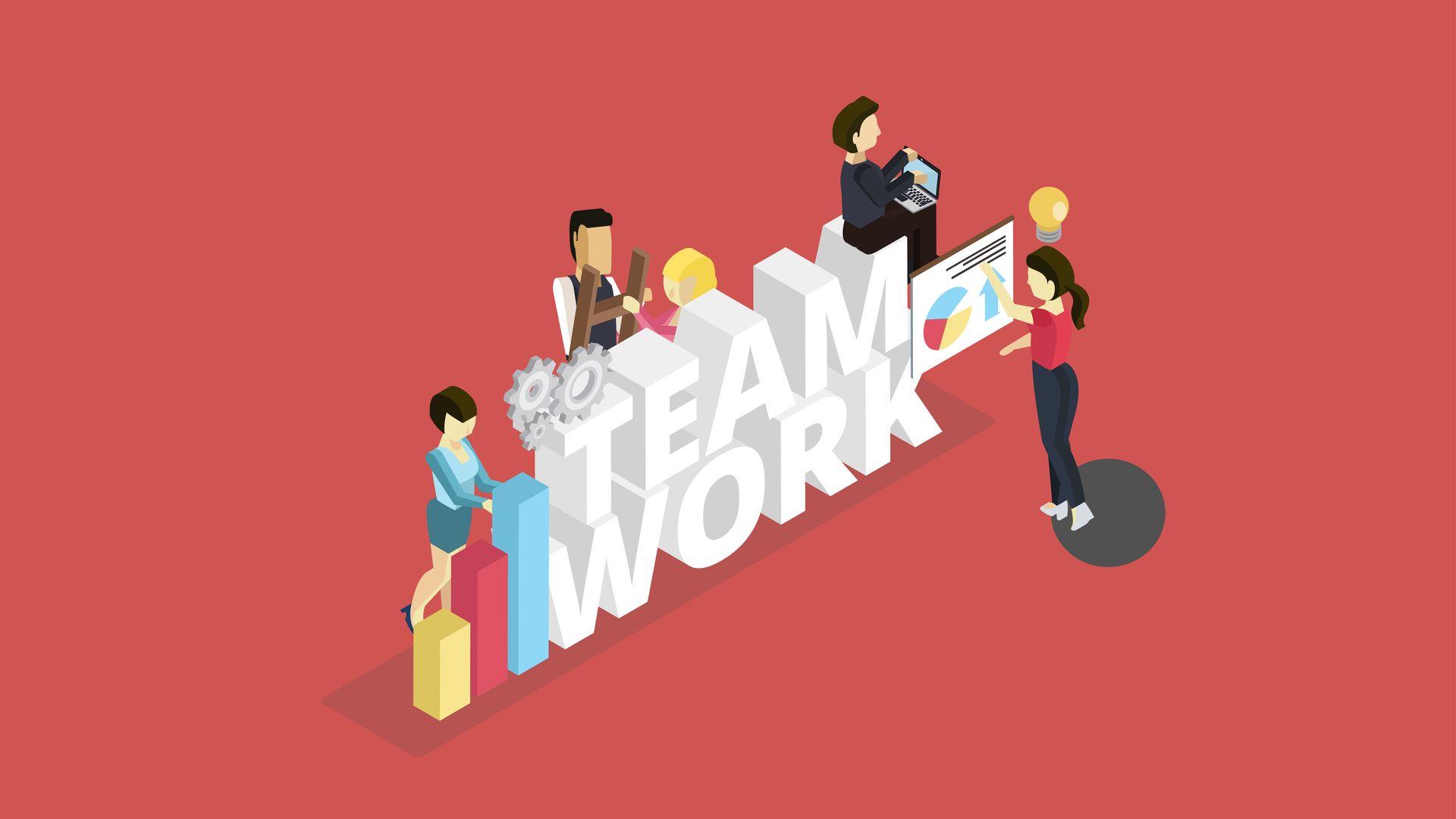 Làm thế nào để phát huy sức mạnh của làm việc nhóm?