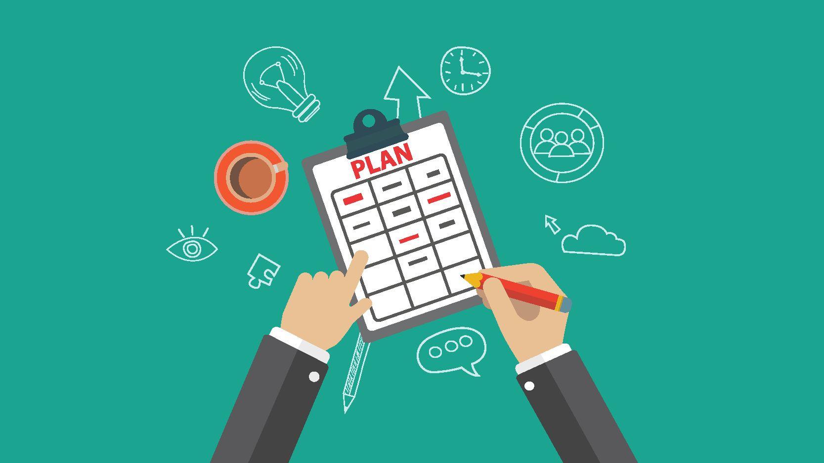 Lập kế hoạch và lịch trình cụ thể