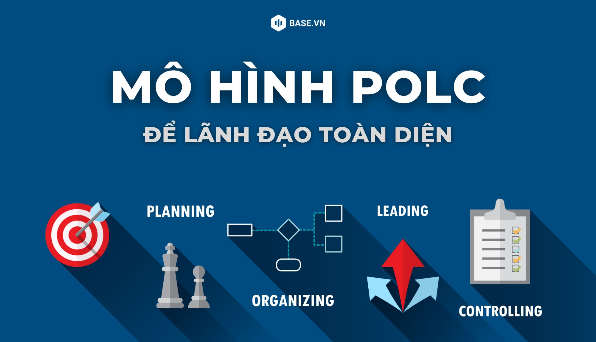 Khung lý thuyết POLC trong vai trò quản trị mà mọi nhà lãnh đạo cần nắm vững