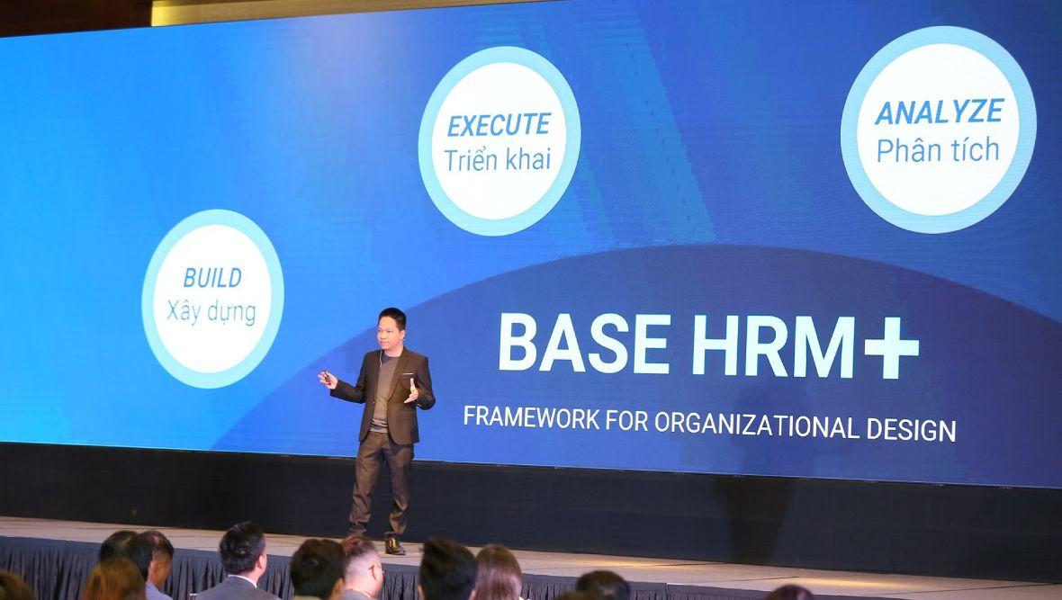 Ra mắt chính thức Bộ giải pháp quản trị và phát triển nhân sự toàn diện Base HRM+