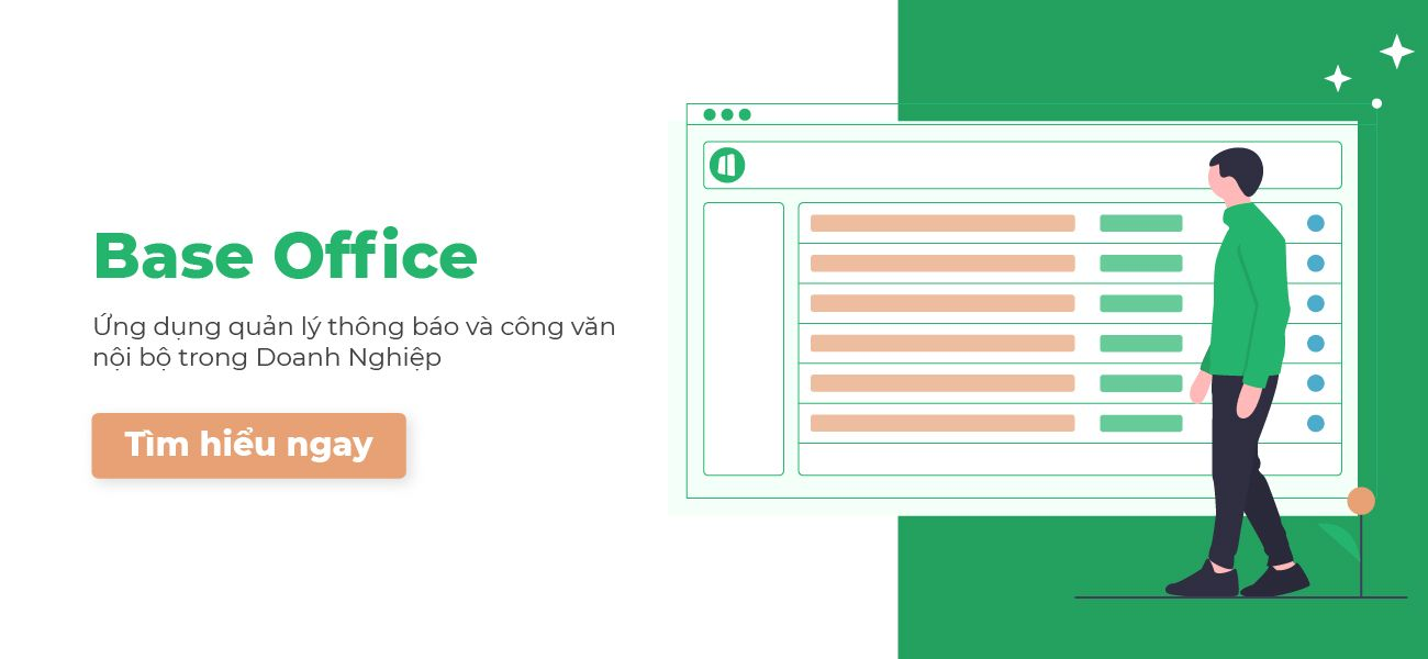 Giới thiệu về Base Office - Phần mềm quản lý công văn với 7 lợi ích trực tiếp